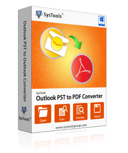 Outlook PST to PDF Converter Box