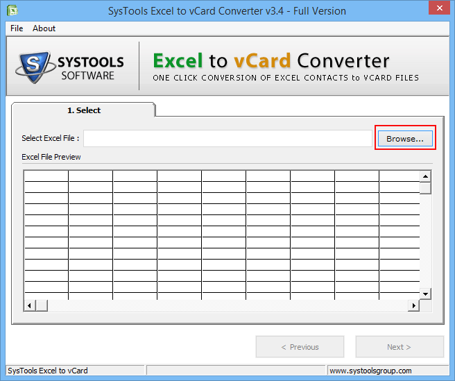 Excel to vCard Converter Tool &ndash