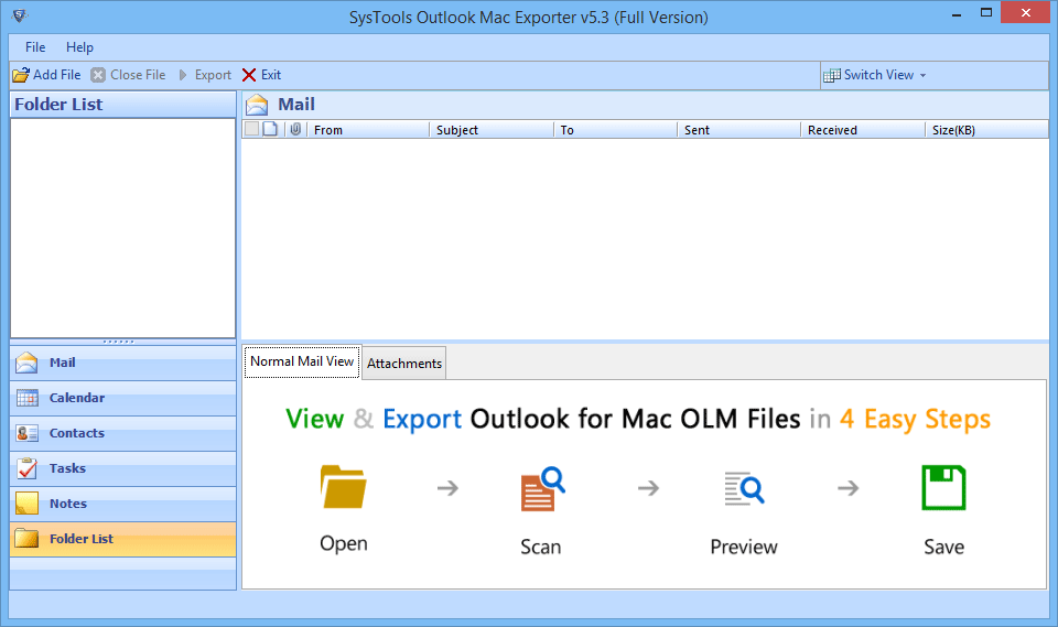 OLM to Outlook Data File Converter